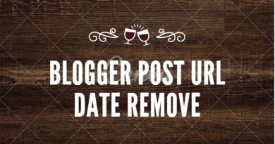 blogger post date remove