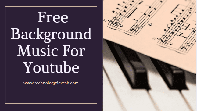 How to free background music for youtube
