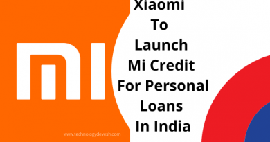 Xiaomi To Launch Mi Credit For Personal Loans In India