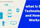 what is 5G technology and how its work