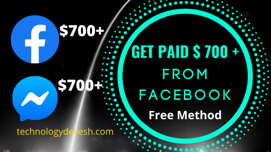 Get Paid $700 Daily From Facebook Messenger (FREE) - Available Worldwide!