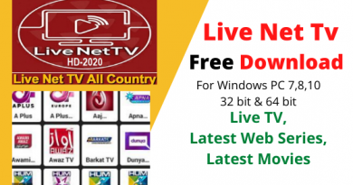 Live Net TV For PC Windows Free Download [Updated 2020]