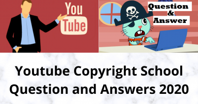 Youtube Copyright School Question and Answers 2020 (1)