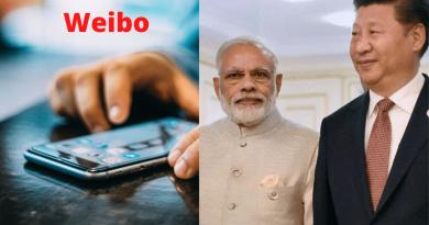 PM Modi left Chinese social media platform WEIBO