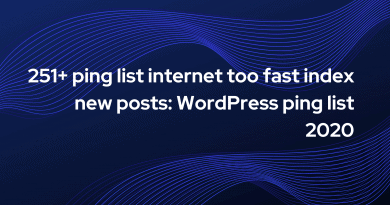 ping list internet